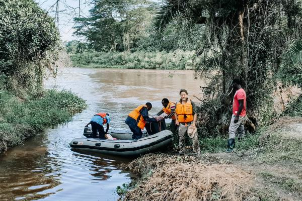 Tanzania Boat Launch