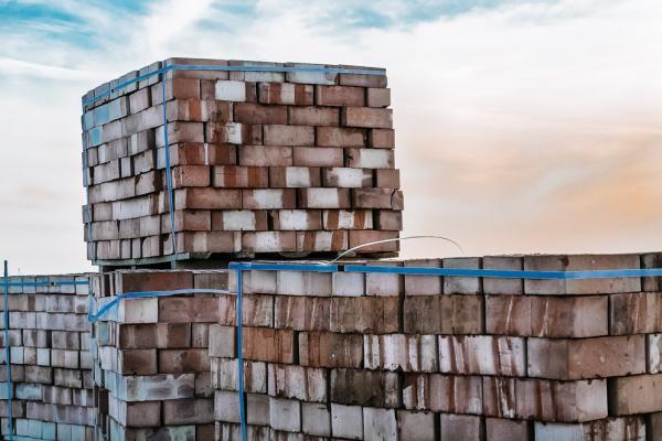 packs of bricks
