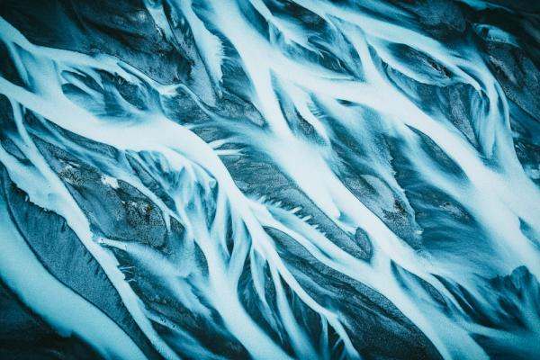 abstract blue image