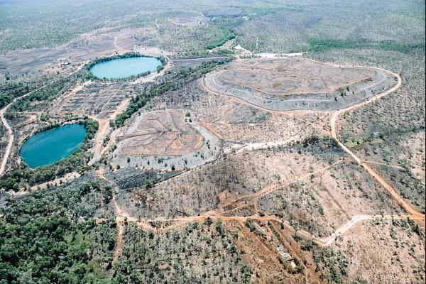 Rum Jungle Uranium Mine Rehabilitation