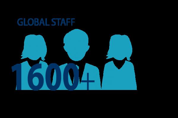 Graphic image of staff