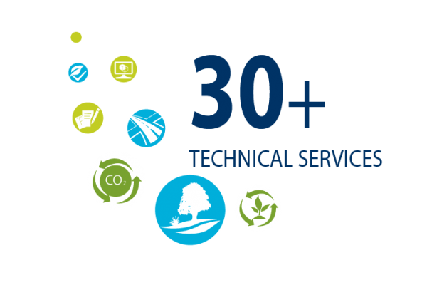 30+ technical services