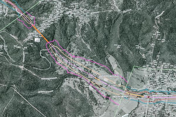 The completion of a large rail noise mapping project such an Inland Rail