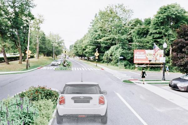 Future vision of Southbury Main Street