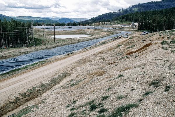 Beartrack Heap Leach Remediation site