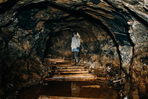 Inside Elizabeth Mine