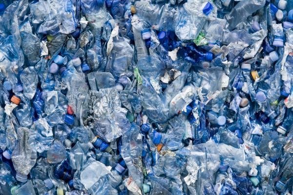 Recycling water bottles