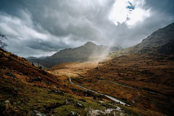 scottish landscape scene