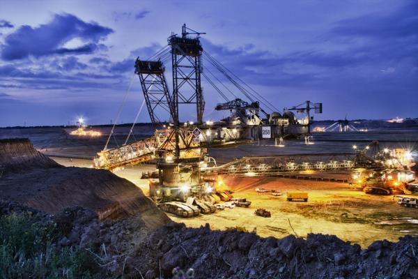 Mining excavators