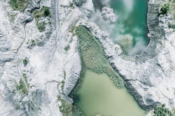 Image of water and a mine - ESG Screening