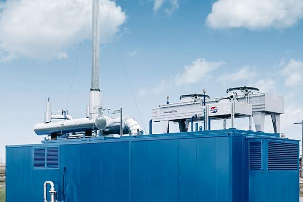 landfill gas engine