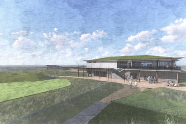 Visualisation of Dundonald golf resort