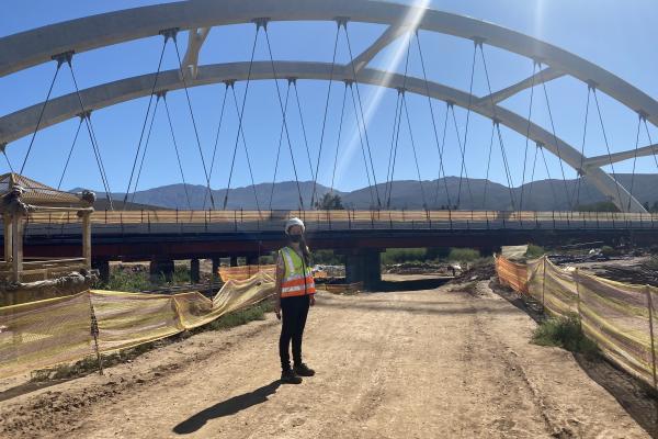 Ashton arch bridge