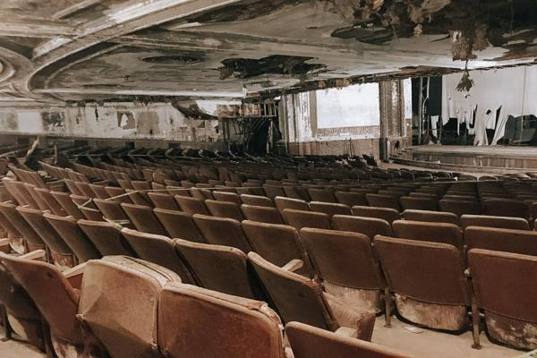 SLR conducted a pre-demolition level asbestos and hazardous materials survey at the former Showcase Cinema