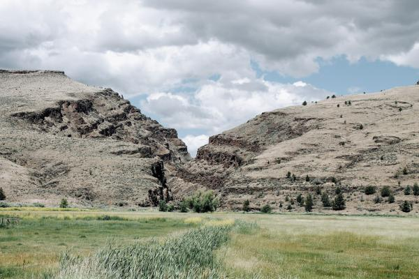 A gorge in Oregon