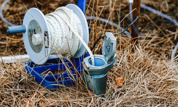 ground water testing apparatus